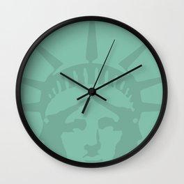 American Woman Ms. Liberty Wall Clock