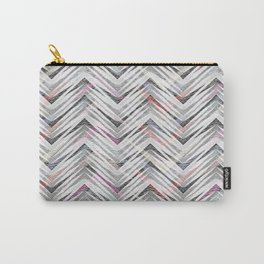 Zigzag pattern. Carry-All Pouch