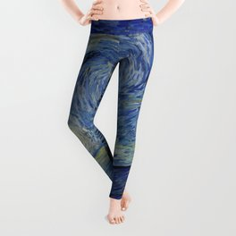 The Starry Night by Vincent van Gogh Leggings