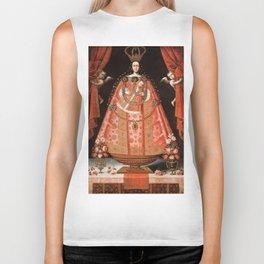 Virgin of Belén - Peru, Cuzco School, 1700 Biker Tank