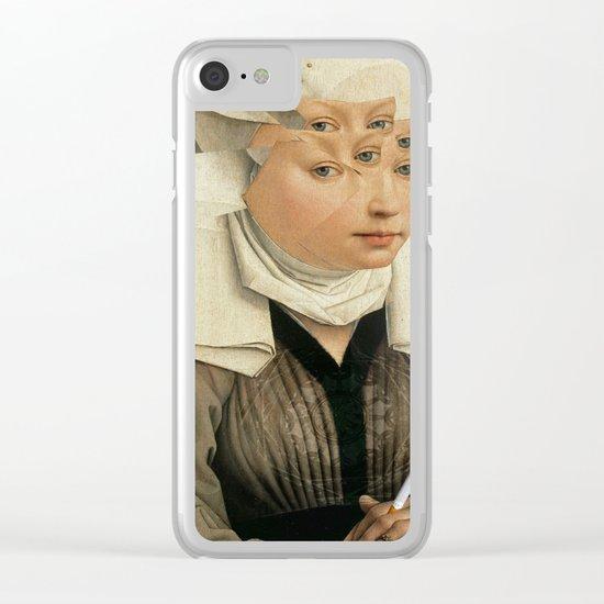 van Weyden und das Laster Clear iPhone Case