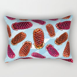 Australian Native Florals - Beehive Ginger Rectangular Pillow