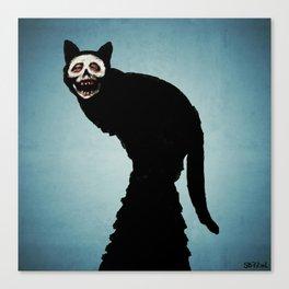 Skullcat Canvas Print