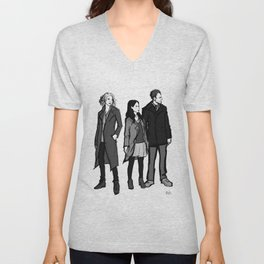 elementary: the diabolical kind Unisex V-Neck