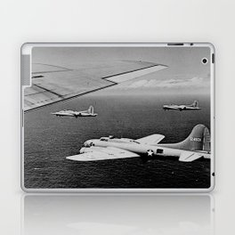 B-17F Flying Fortress Bombers over the Southwest Pacific Laptop & iPad Skin