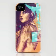 We Must Be Free Slim Case iPhone (4, 4s)