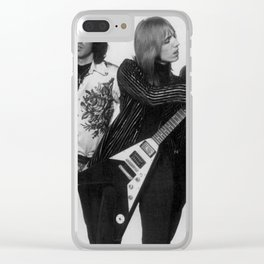 Tom Petty Heartbreakers Clear iPhone Case