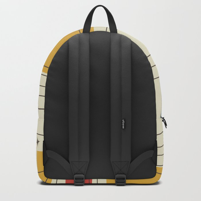 Mid-Century Modern (gold) Backpack