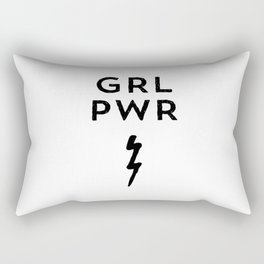 GRL PWR Rectangular Pillow