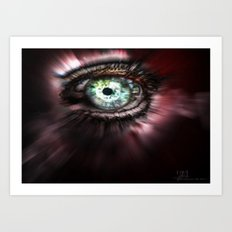 Eye from Above Art Print