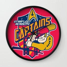 Starfleet Academy Captains Baseball Wall Clock