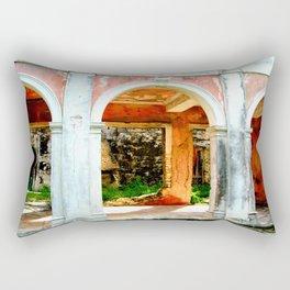 Haunted Harbour Island House Rectangular Pillow