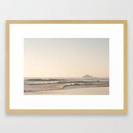 Dawn Mornings Framed Art Print