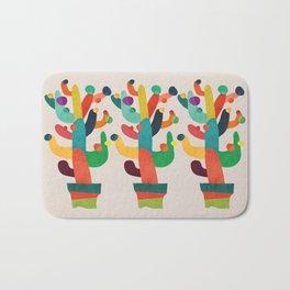 Whimsical Cactus Bath Mat