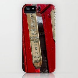 Ralway signal levers iPhone Case