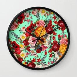 EXOTIC GARDEN XV Wall Clock