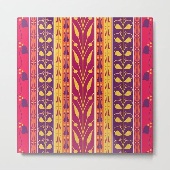 Palmette Metal Print