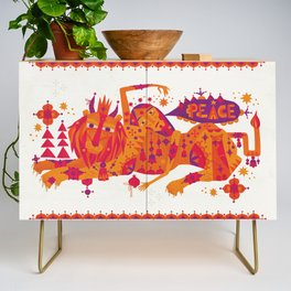 I Wish You Peace Credenza