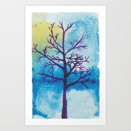 bluetree Art Print