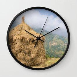 NEPALI HAYSTACK  Wall Clock