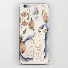 Fox in the fruit iPhone Skin