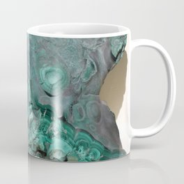 Natural Malachite Coffee Mug