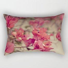 Red Flowers #2 Rectangular Pillow