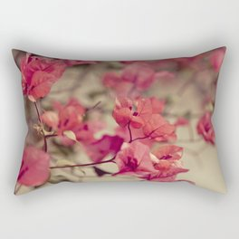 Red Flowers #2 Rectangular Pillow