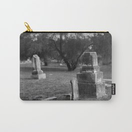 Headstones In City Cemetery Carry-All Pouch