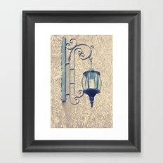 Light me up Framed Art Print