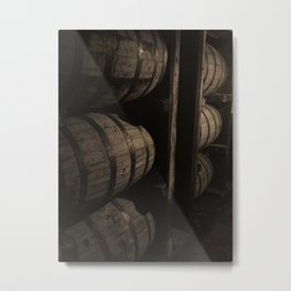 Bourbon Barrels Kentucky Photo Metal Print