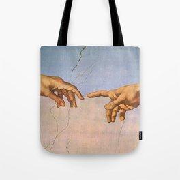 Michelangelo's Creation Tote Bag