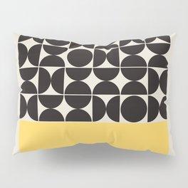 Mid century modern, mid-century wall art, print, geometric wall art, abstract wall art, interior, ma Pillow Sham