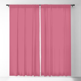 Rapture Rose | Pantone Fashion Color Spring : Summer 2018 | London | Solid Color | Blackout Curtain