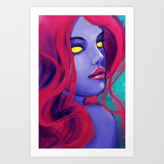 X-Men: Mystique Art Print