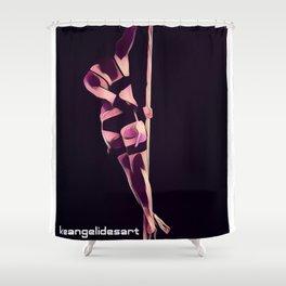 IraDomtrix 3 Shower Curtain