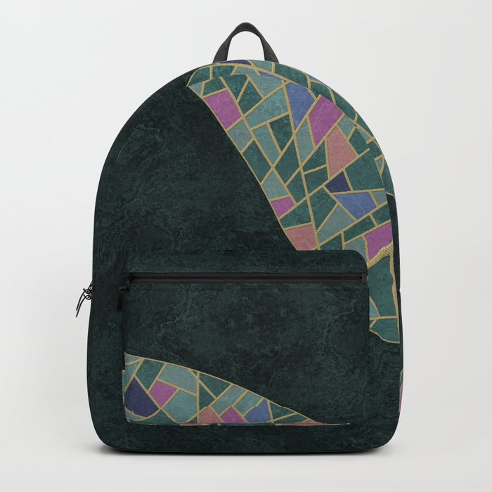 Geometric Marble 02 (abstract) Backpack