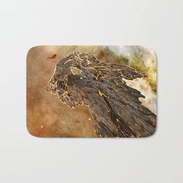 Hot Asteroid Bath Mat