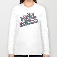 vagina Long Sleeve T-shirts featuring Vagina Rules by Tim Malstead