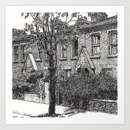BATTERSEA PARK Art Print
