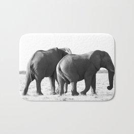 Twin Elephants Bath Mat