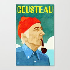Jacques Cousteau Canvas Print