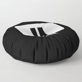 Pause Button Floor Pillow