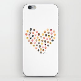 Vulva Heart iPhone Skin