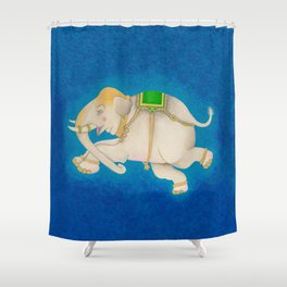 Happy Dreamtime Elephant Shower Curtain