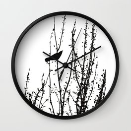 Murder of Crows #1 Wall Clock