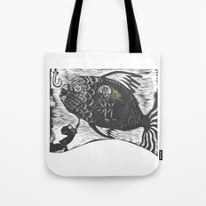 Hungry Fish Tote Bag