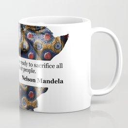 African Leaders - Nelson Mandela Coffee Mug