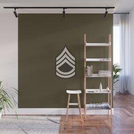 Sergeant First Class (Brown) Wall Mural