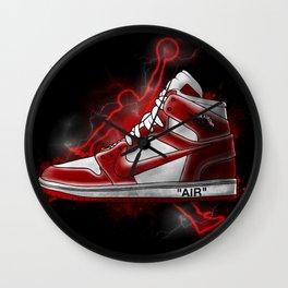 Air Jordan artwork Wall Clock